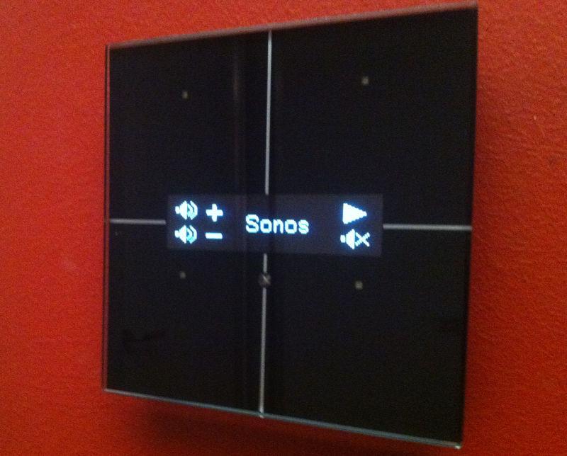 Sonos on velbus