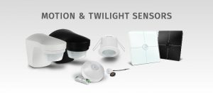 Motion & light sensors